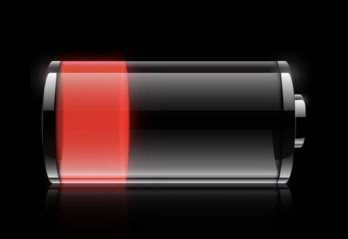 batteria rossa