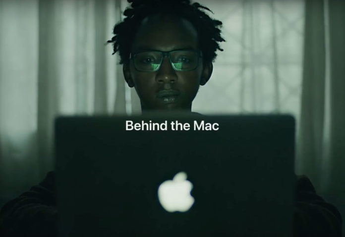Behind the Mac