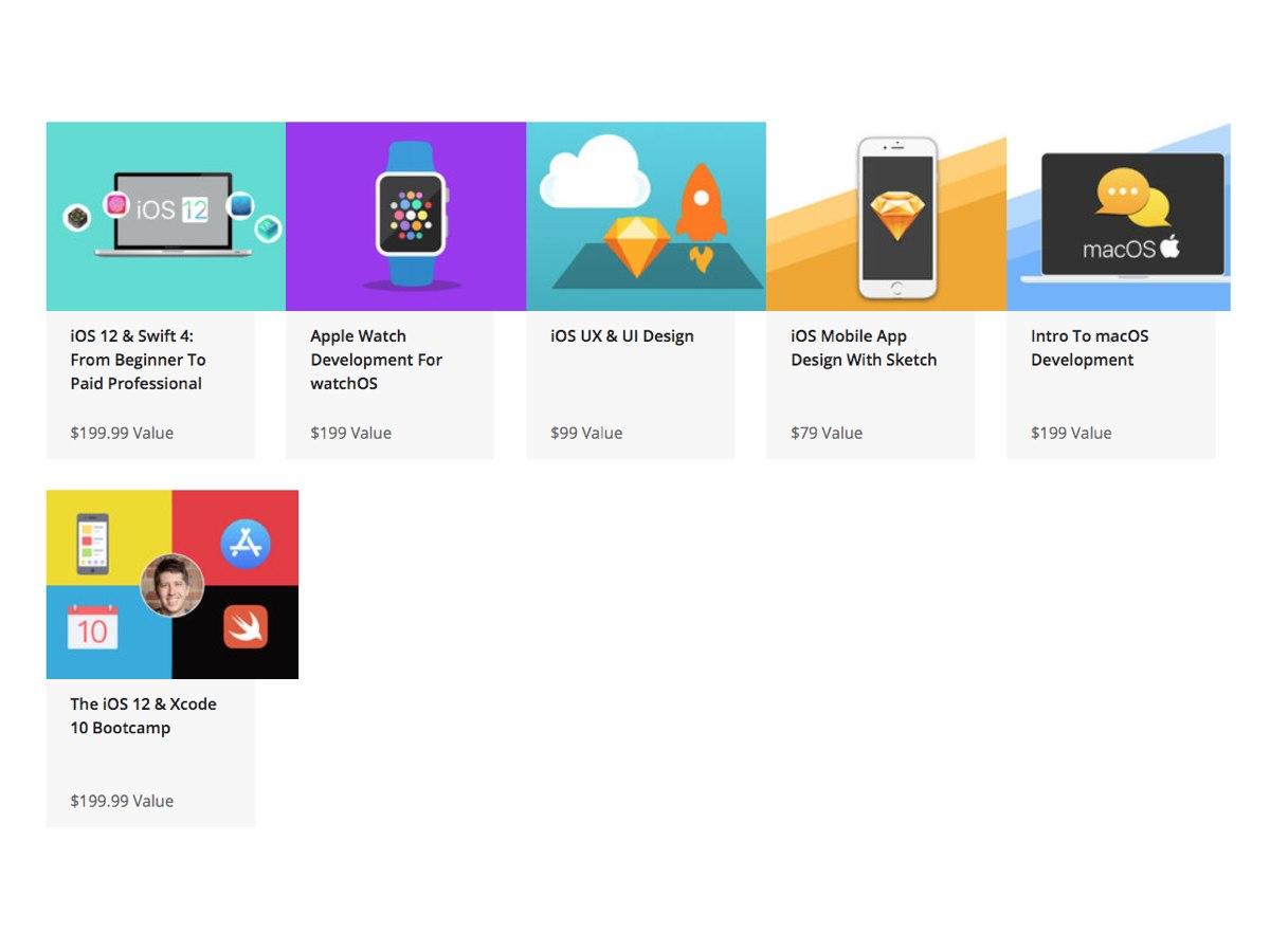 Imparate a sviluppare per iOS: corso con 186 lezioni a 49,99$