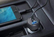 Sconto su caricabatterie da auto con cavo Lightning e porta USB: 15,99€