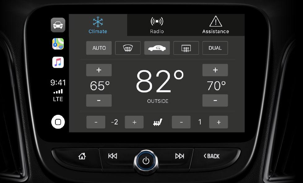 Anche le app della casa costruttrice dell'auto possono essere visualizzate con CarPlay