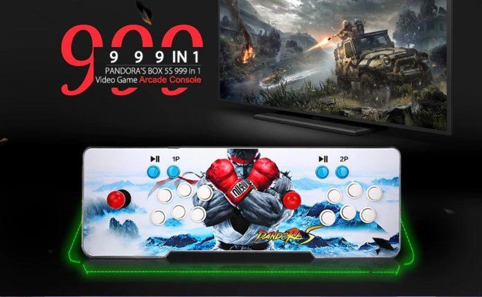 Console Arcade con 999 giochi in 1 a soli 114 euro, 11 centesimi a gioco