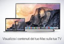 Collegare via WiFi il Mac alle TV di Samsung