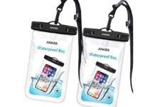 Al mare con lo smartphone: sconto a solo 7,99€ per due custodie impermeabili