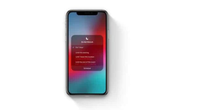 Modalità Non Disturbare iOS 12, più potente e con opzione per la notte