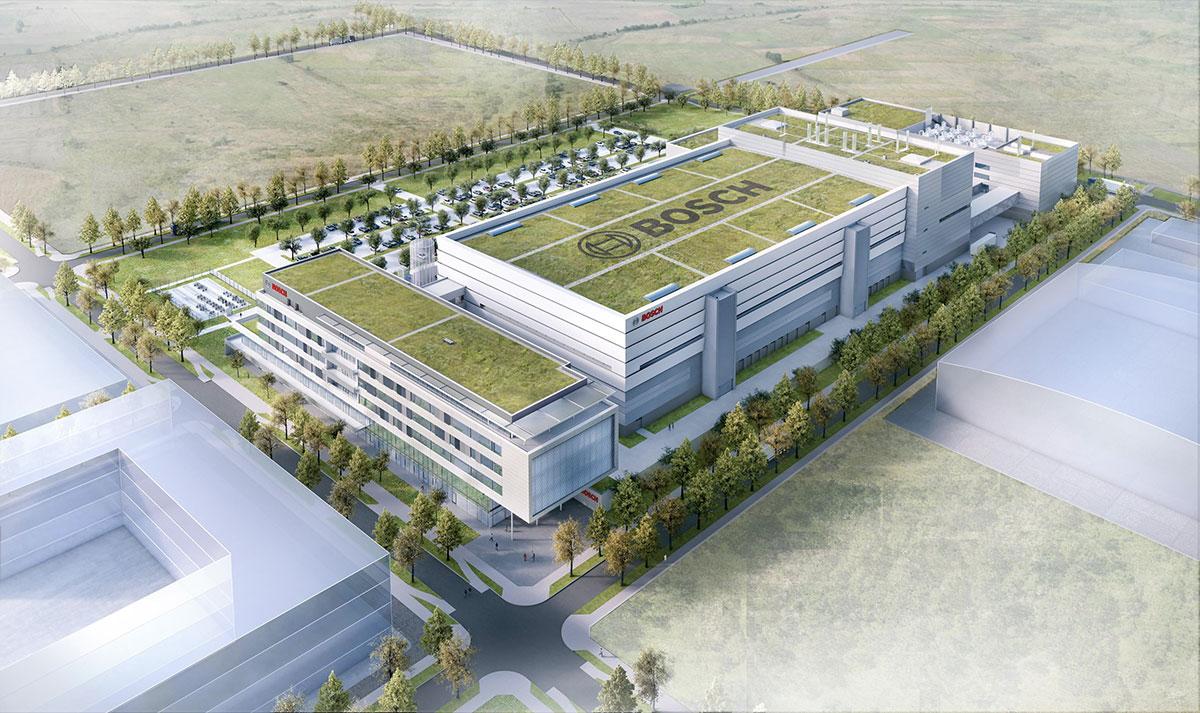 fabbrica per la creazione di semiconduttori di Bosch