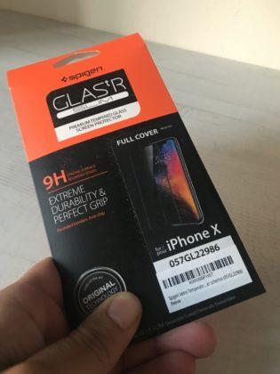 Recensione pellicola Glas.t.R Slim Spigen per iPhone X
