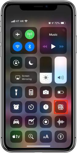 Leggere codici QR con iPhone