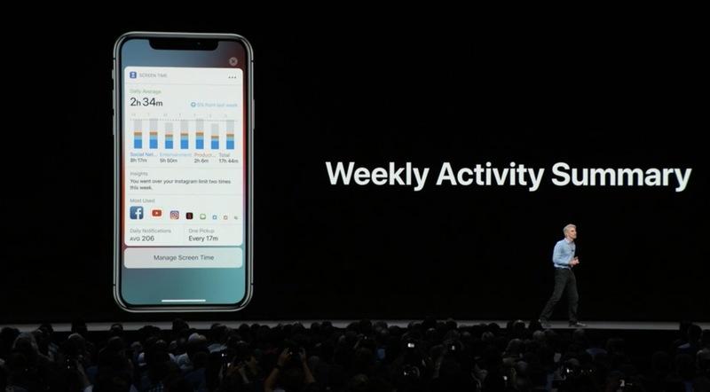 In iOS 12 nuove notifiche e un controllo sull'uso di iPhone da parte dei minori