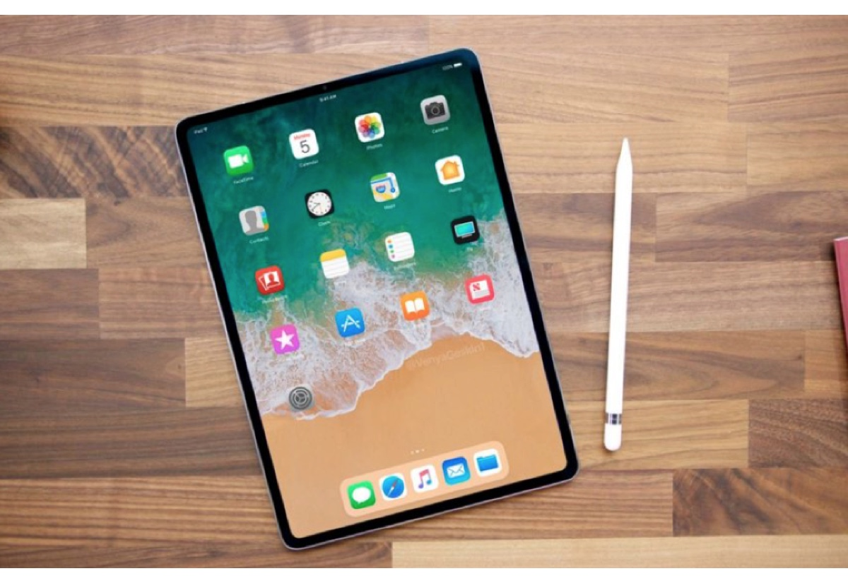 Nuovo iPad con Face ID e senza tasto Home in arrivo