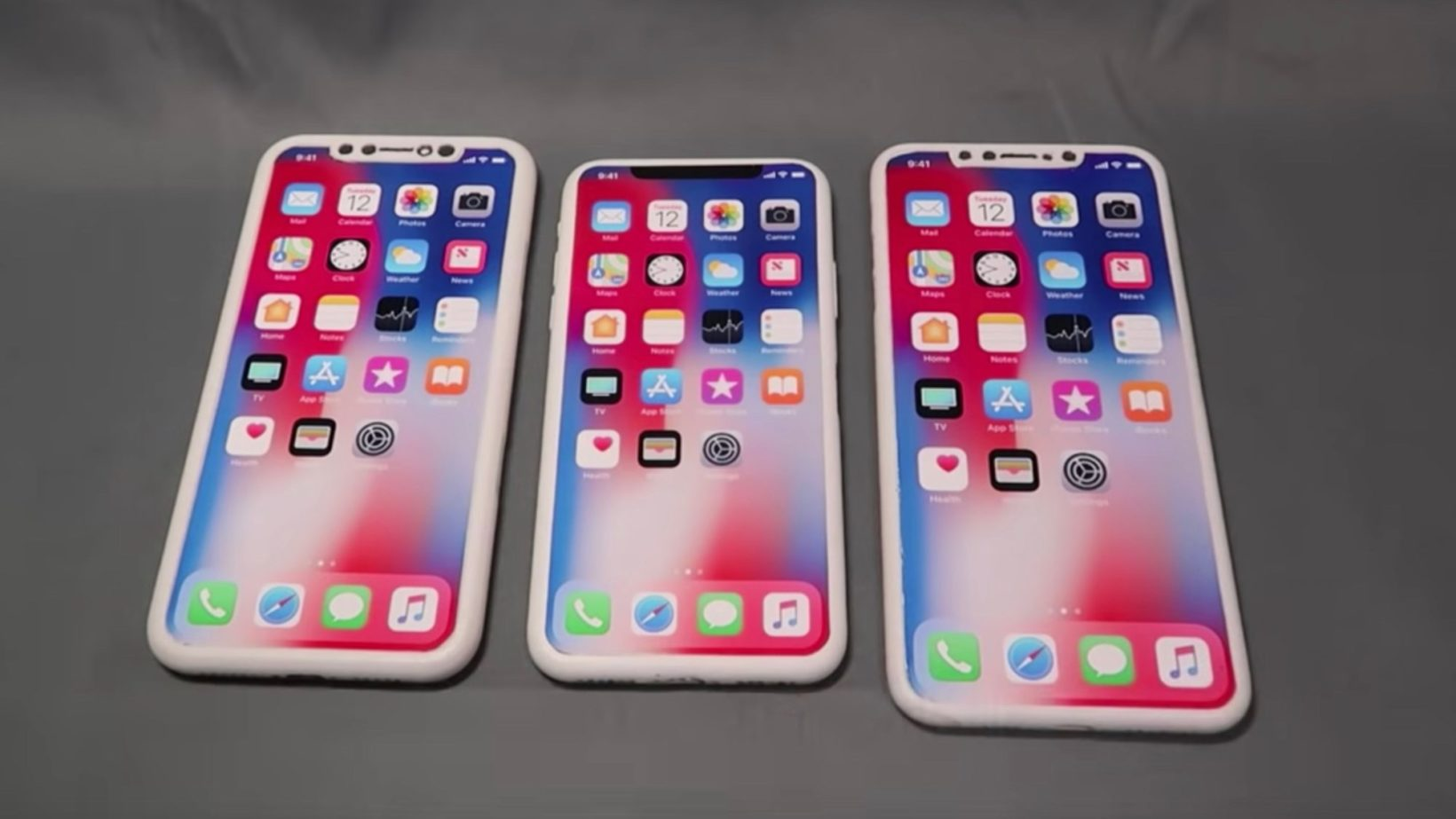 iPhone 2018 a confronto con iPhone X