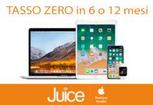 Da Juice Tasso Zero su iPhone, iPad, Apple Watch e Mac con prima rata dopo l'estate