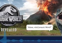 Alexa incontra i dinosauri: ecco l'avventura audio interattiva Jurassic World Revealed