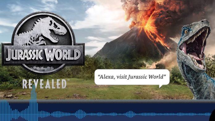 Alexa incontra i dinosauri: ecco l'avventura audio interattiva Jurassic World Revealed