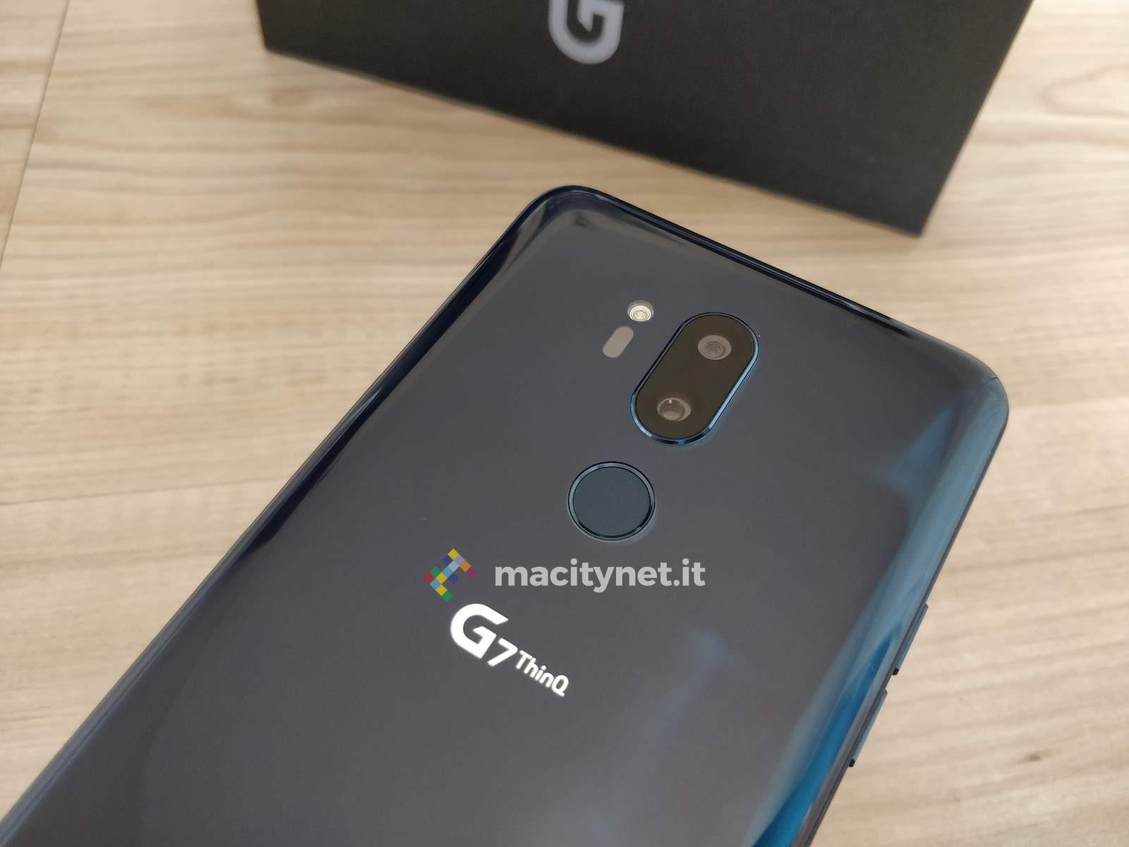 Recensione LG G7 ThinQ