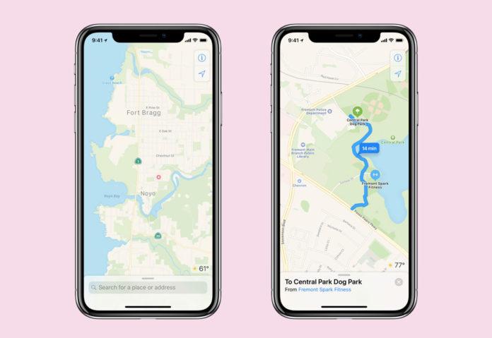 Mappe di Apple
