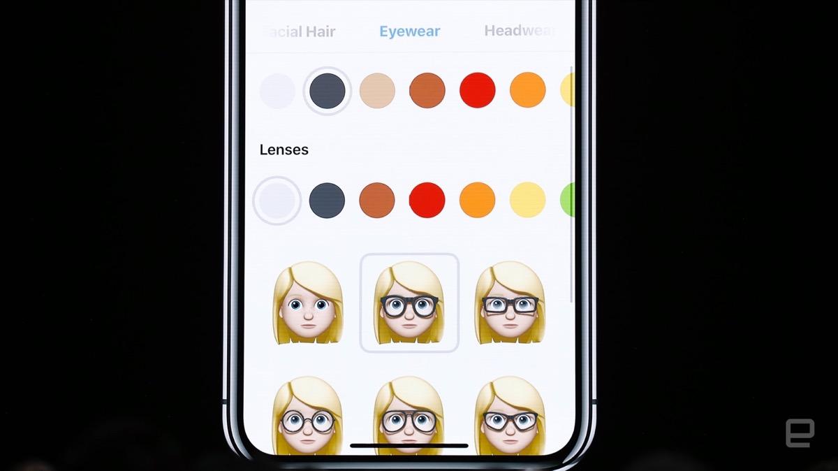 Memoji iOS 12