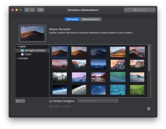 macOS 10.14 Mojave, primo sguardo alle novità