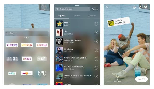Dopo la TV, Instagram permette di aggiungere musica alle Storie