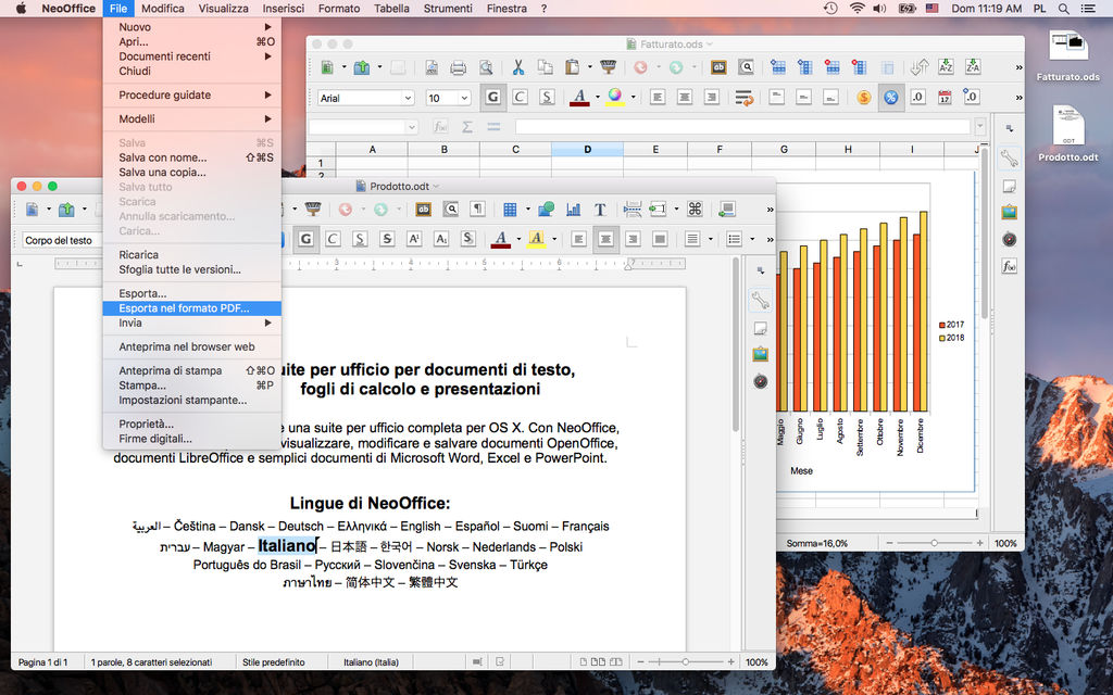 Neooffice Alternative a Office per Mac