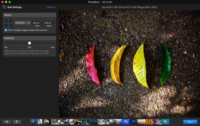 PhotoBulk è l'app Mac per applicare filigrane, ritagliare e convertire gruppi di foto