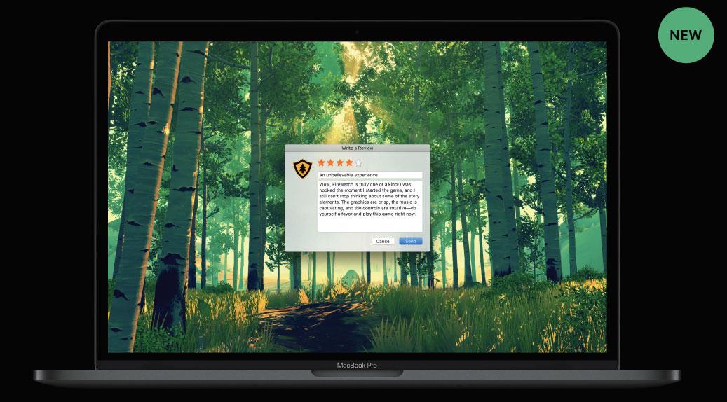 Recensione su Mac App Store