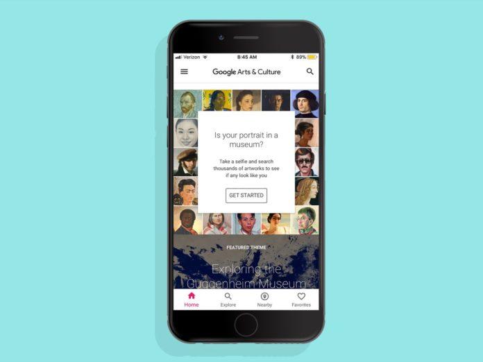 Google Arts & Culture, visita i musei in realtà aumentata