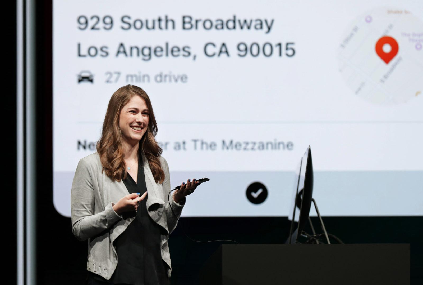 Shortcuts, foto Kimberly Beverett di Apple alla WWDC 2017