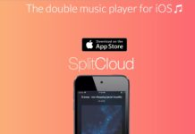 SplitCloud Double Music Player, ascoltare due diversi brani con una solo cuffia