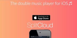 SplitCloud Double Music Player, ascoltare due diversi brani con una solo cuffia
