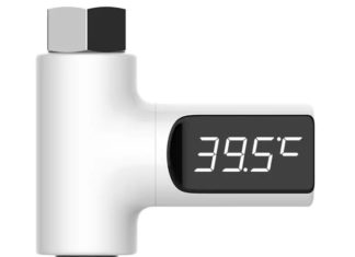 Mai più docce gelate o bollenti con il termometro digitale universale: 10 euro
