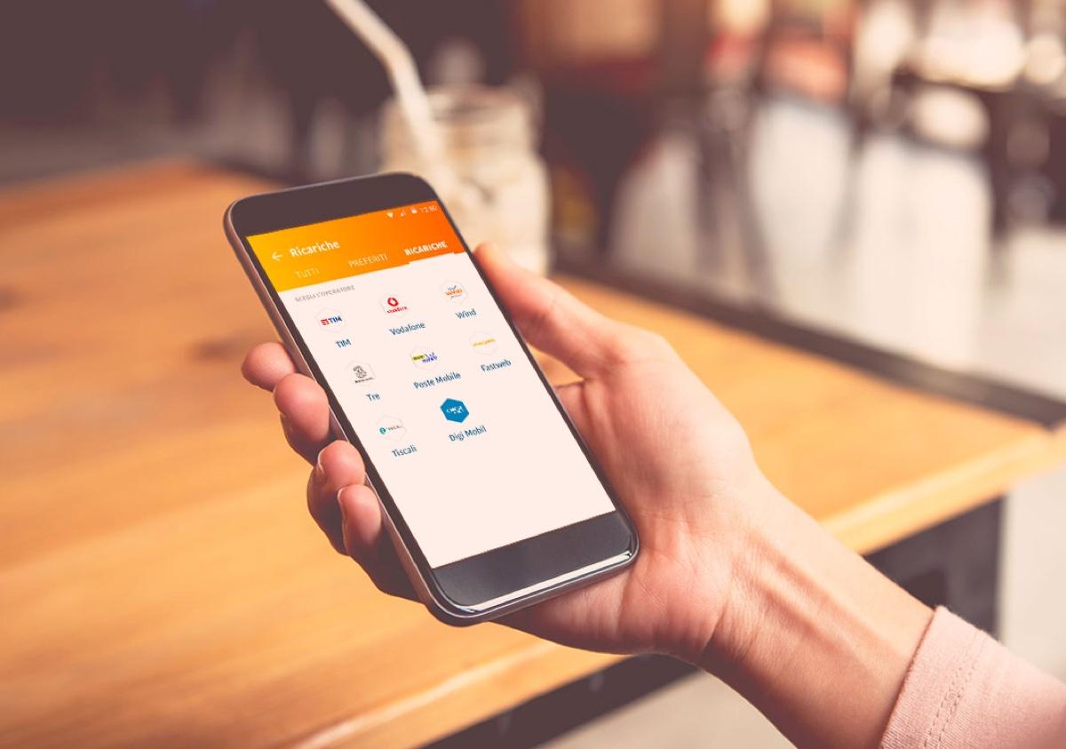 tinaba foto schermata Ricariche telefoniche, ora si fanno con l'app Tinaba senza costi e senza attese
