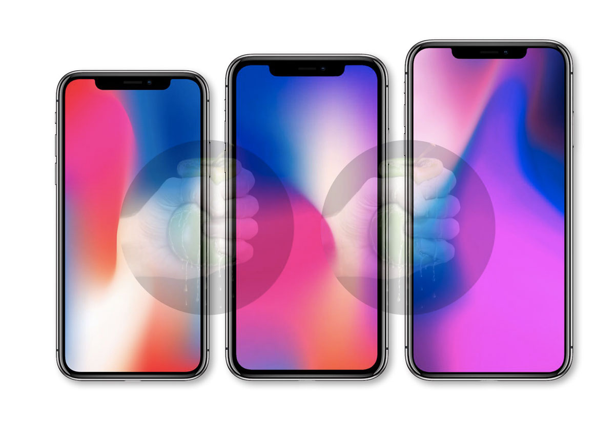 iPhone 2018 oto linea nuovi iPhone 2018 tre modelli
