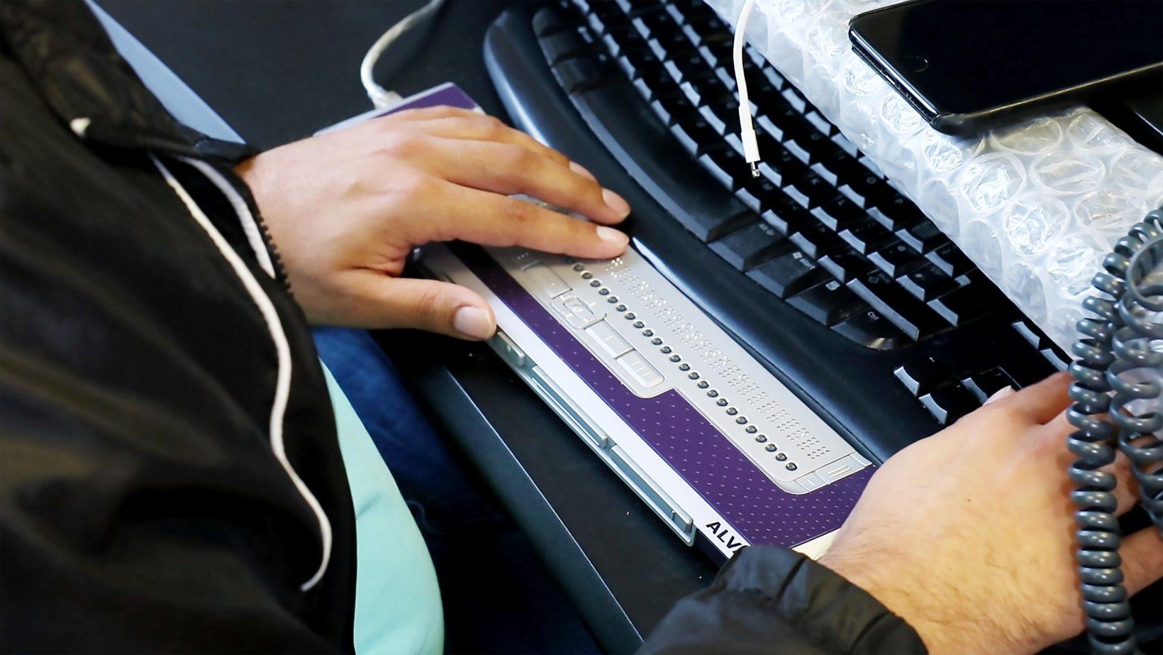 USB per schermi braille