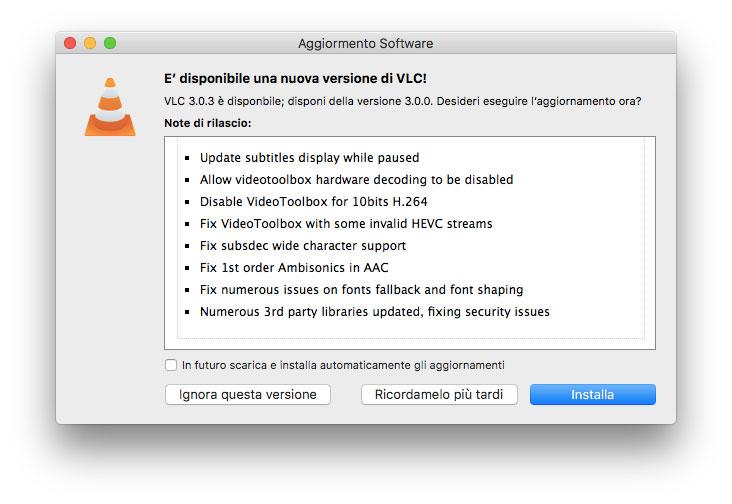 VLC 3.03