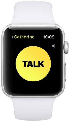 La funzione Walkie-Talkie funziona nella seconda beta di watchOS 5