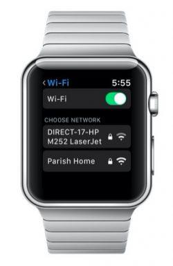 Con watchOS 5 si può scegliere la rete wifi da Apple Watch