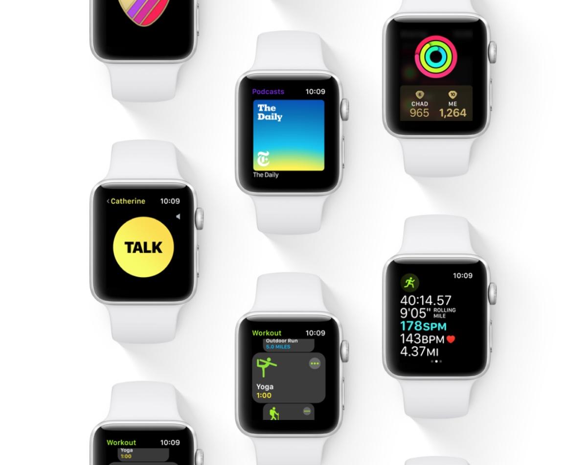 watchOS 5 permette di spostare le icone del Centro di Controllo
