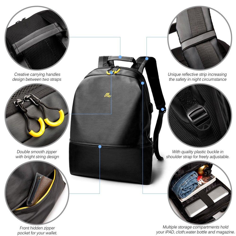 Zaino per PC di Lixada, con presa USB e tessuto impermeabile: sconto a 20,99€