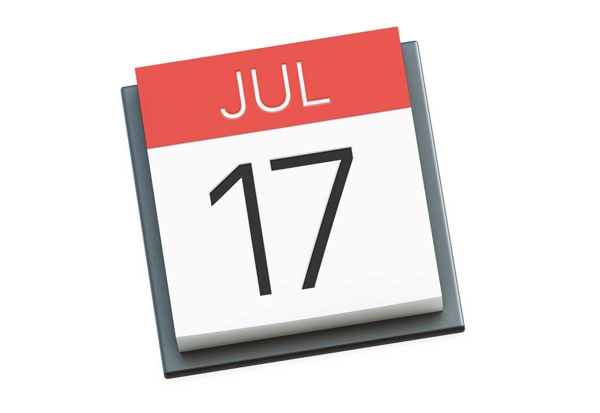 Calendario Di Luglio.17 Luglio La Misteriosa Data Nell Icona Del Calendario Di