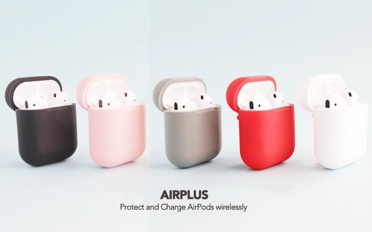 Con AirPlus la custodia AirPods si ricarica wirelss