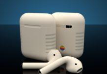 Gli AirPods Retro sono truccati come il Macintosh del 1984