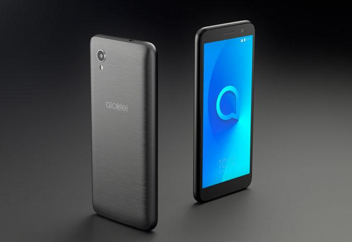 Alcatel 1 è lo smartphone più economico del mondo