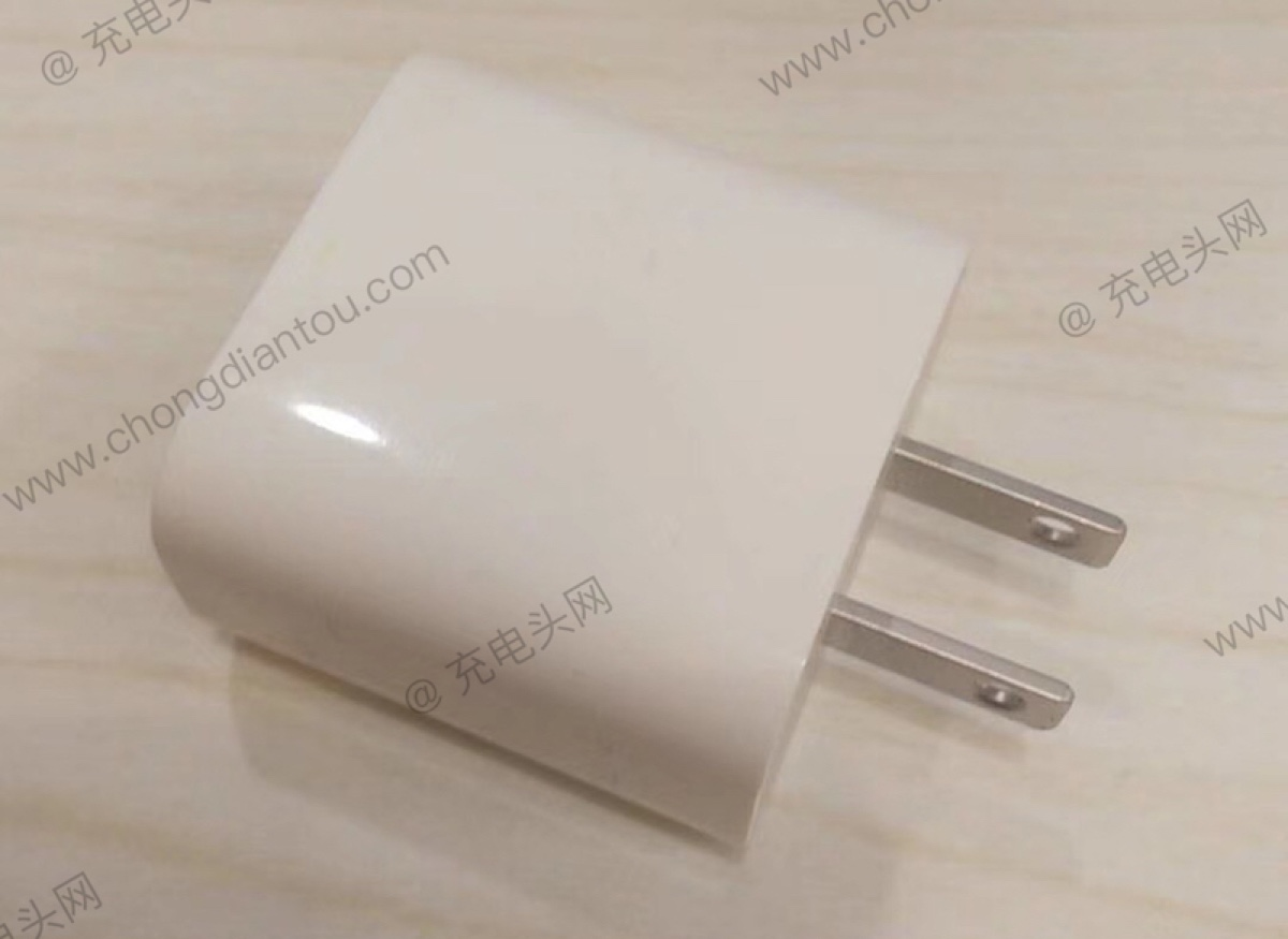 Il super alimentatore iPhone 18W USB-C appare in foto