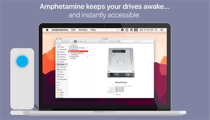 Come impedire lo Standby del Mac con Amphetamine