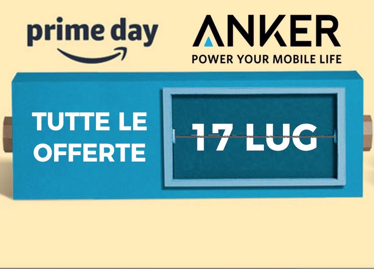 Le nuove offerte Prime Day del 17 Luglio  tutti gli sconti su Anker ... 3deed649cc66