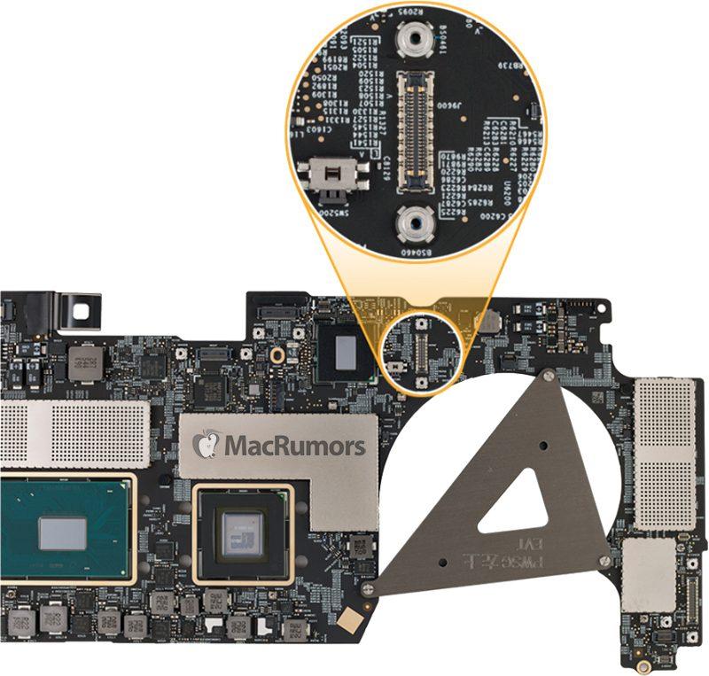 Sulla scheda logica dei nuovi MacBook Pro non c'è il connettore per il recupero dati