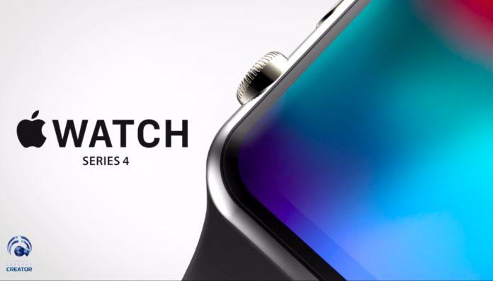 Ecco come sarà Apple Watch 4, display più grande e senza cornici