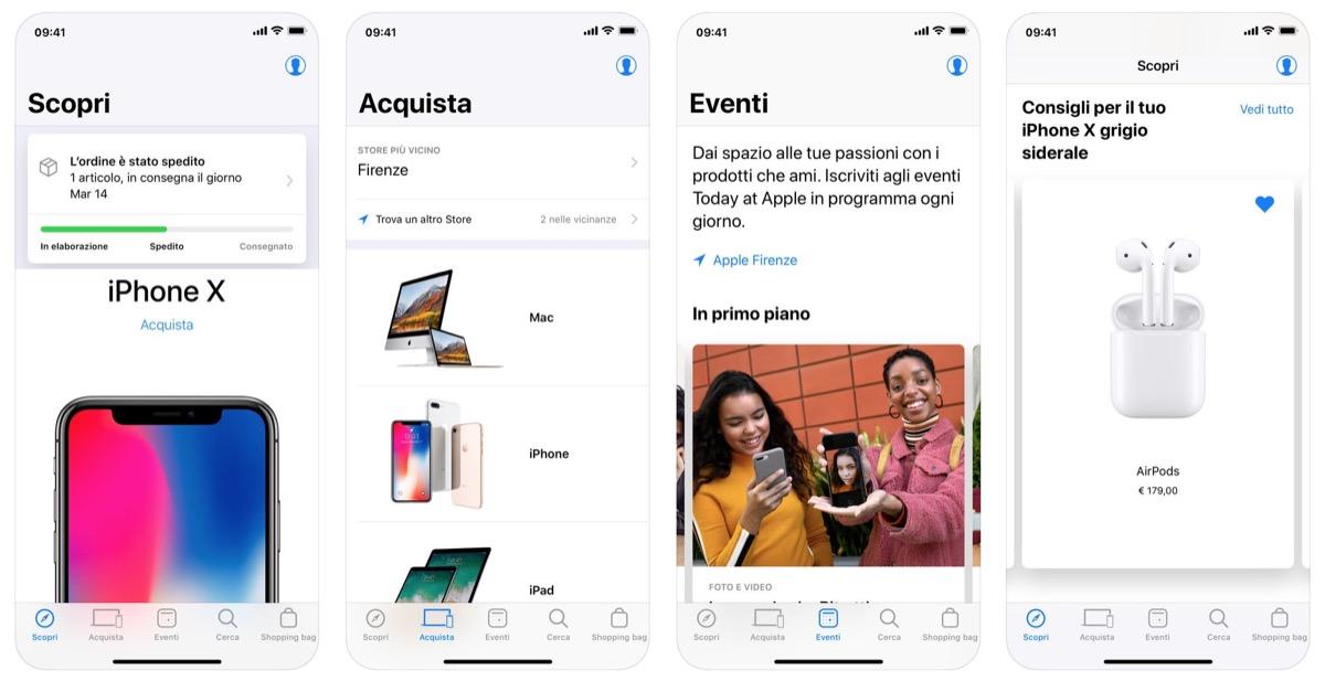 892a91eb567 Cercare i prodotti con la voce, così l'app Apple Store migliora in USA