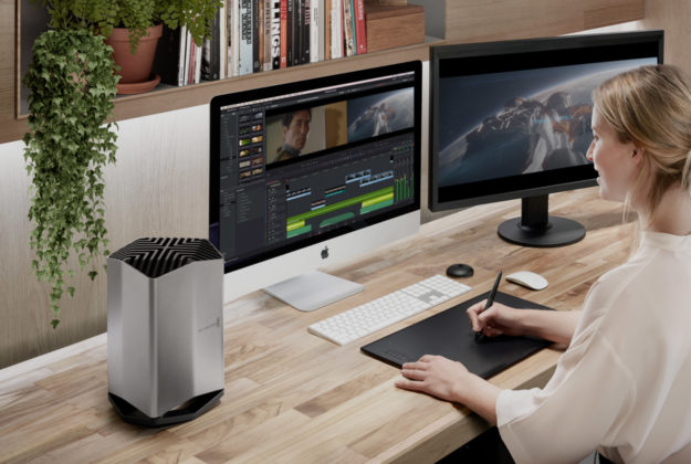 La nuova eGPU di Blackmagic per i MacBook Pro